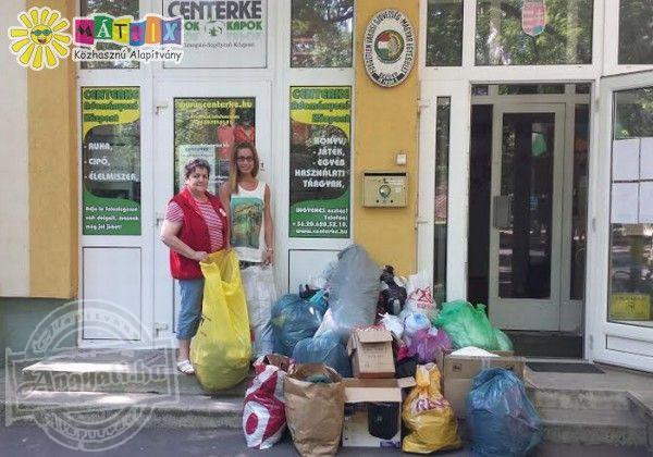 Kétszáz kiló ruhát, cipőt, játékot kapott a Centerke Adományozói Központ
