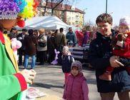 Márciusban is a Bödön Vásárban vendégeskedett a Karitáció Alapítvány és a Bohócdoktor Betegségelűző Csapata