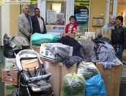 Szegedről indult segélyszállítmány a borsodi Cigándra