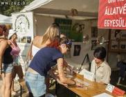 A felelős állattartást népszerűsítette a Sziget 2014 Fesztiválon az Orpheus Állatvédő Egyesüet