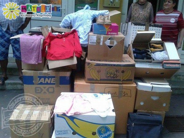 Egész évben folyamatos az adomány osztás és gyűjtés a Mátrix Alapítvány által működtetett Centerke Adományozó Központban