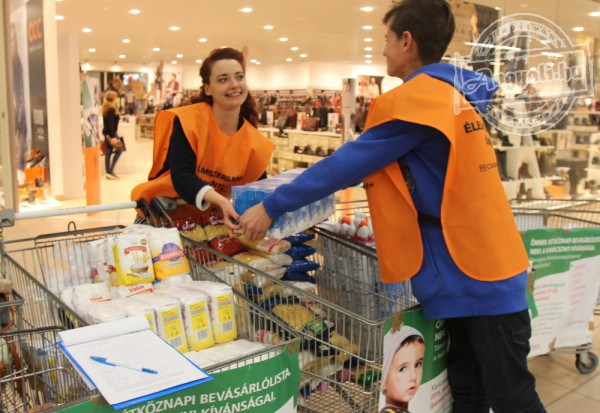 Élelmiszergyűjtés, segítségnyújtás
