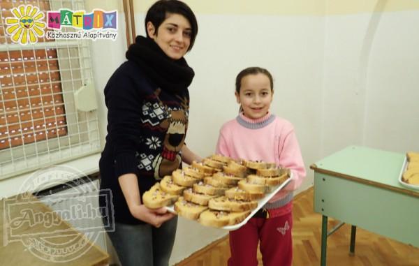 Élelmiszerosztás, gyermekétkeztetés