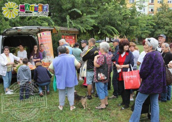 Gyümölcsöt és friss helyi zöldséget kaptak rászorulók a Mátrix Alapítványtól