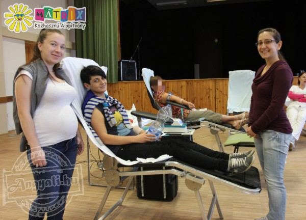 Véradás sikerét segítette az Önkéntesül(l)és Csapata