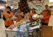 Adománygyűjtés, élelmiszerosztás