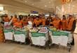 Önkéntes csapatunk is élelmiszert gyűjtött